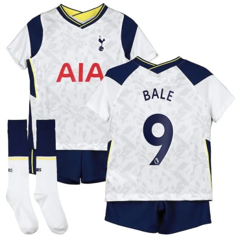 Детская домашняя футбольная форма Бейл 2020-2021