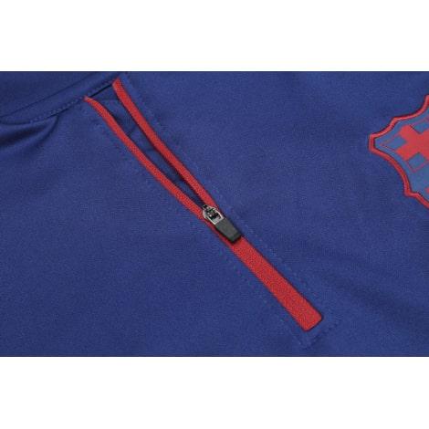 Сине-голубой костюм Барселоны 2021-2022 молния