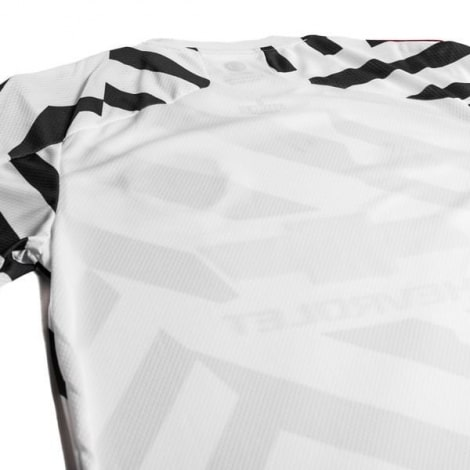Детская третья форма Ман Юнайтед Бруну Фернандеш 2020-2021 футболка сзади