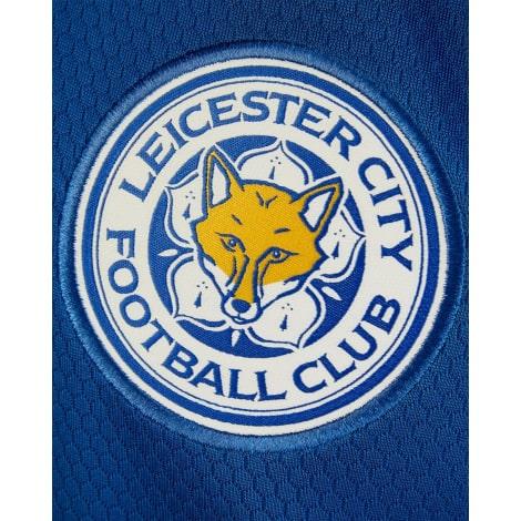 Домашняя игровая футболка Лестер Сити VARDY 20-21 номер 9 герб клуба