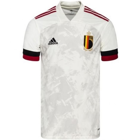 Детская гостевая форма Бельгии на Чемпионат Европы 2020-21 футболка
