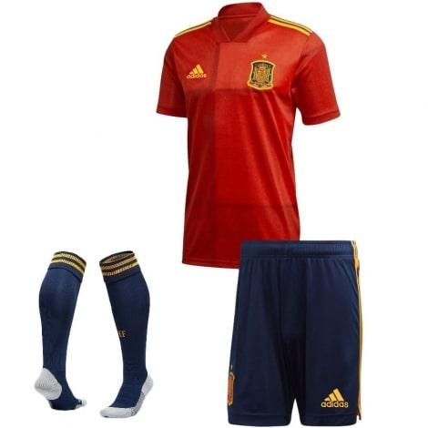 Детская домашняя форма Испании на ЕВРО 2020-21