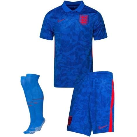 Детский комплект гостевой формы Англии на ЕВРО 2020-21