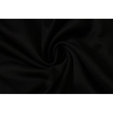 Черно-белый спортивный костюм Ювентуса 2021-2022 ткань