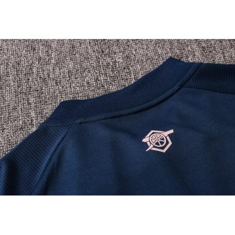 Синий спортивный костюм Арсенал 2021-2022 воротник сзади