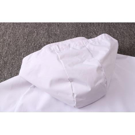 Бело-синий спортивный костюм Ювентуса 2021-2022 капюшон сзади