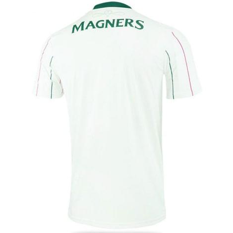 Третья игровая футболка Селтик 2021-2022 сзади