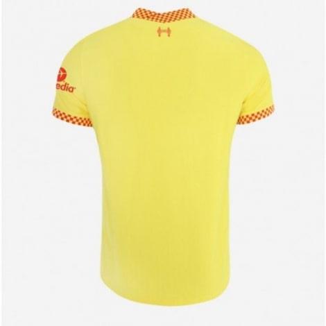 Третья игровая футболка Ливерпуля 2021-2022 сзади