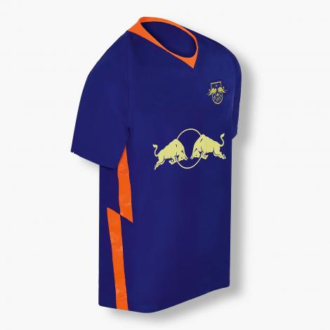 Комплект детской гостевой формы РБ Лейпциг 2020-2021 футболка