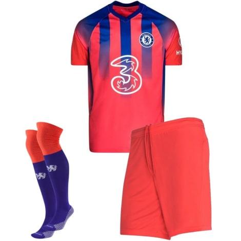 Комплект взрослой третьей формы Челси 2020-2021 футболка шорты и гетры