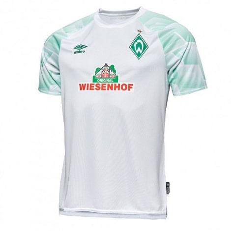 Комплект детской гостевой формы Вердер Бремен 2020-2021 футболка
