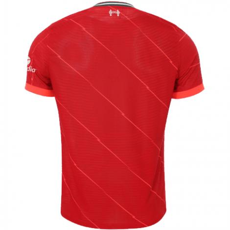 Домашняя игровая футболка Ливерпуля 2021-2022 сзади