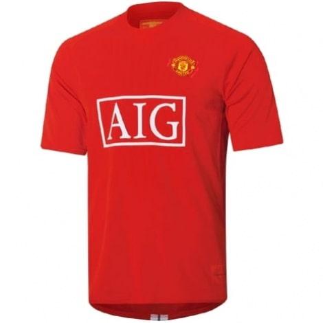 Домашняя футболка Манчестер Юнайтед 2007-2008
