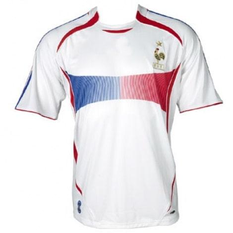 Домашняя футболка сборной Франции на чемпионат мира 2006