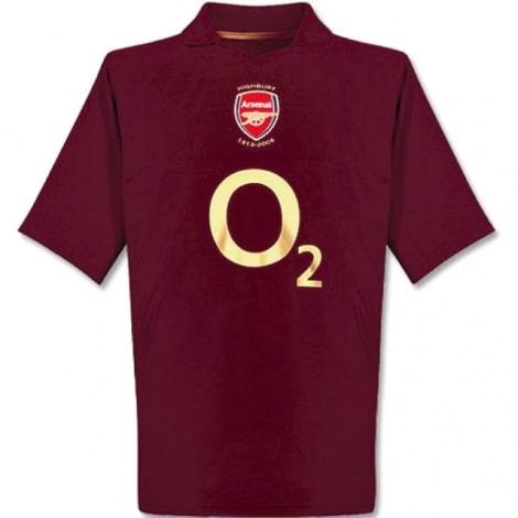 Домашняя футболка Арсенала 2005-2006