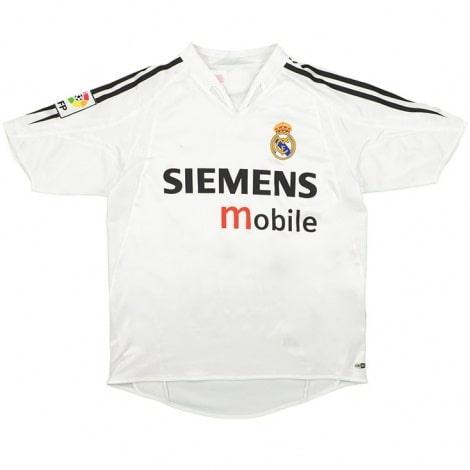 Домашняя ретро футболка Реал Мадрид 2004-2005