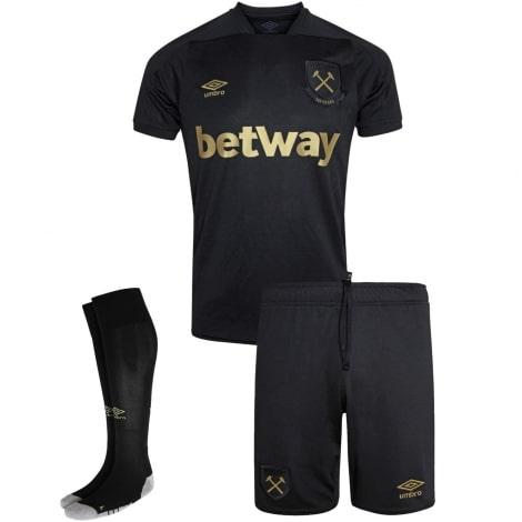 Детская домашняя футбольная форма Арсенала 2017-2018 футболка шорты и гетры