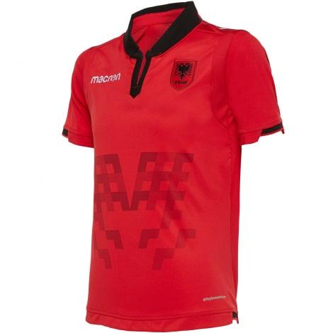 Домашняя игровая футболка сборной Албании 2020-2021 года