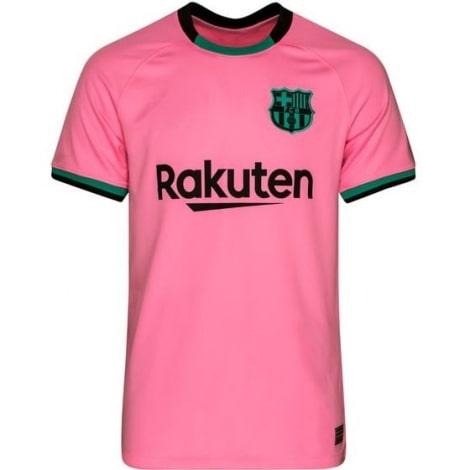 Третья игровая футболка Барселоны 2020-2021