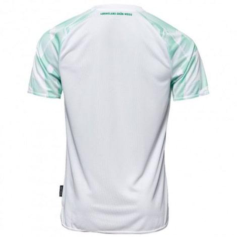 Комплект взрослой гостевой формы Вердера 2020-2021 футболка сзади