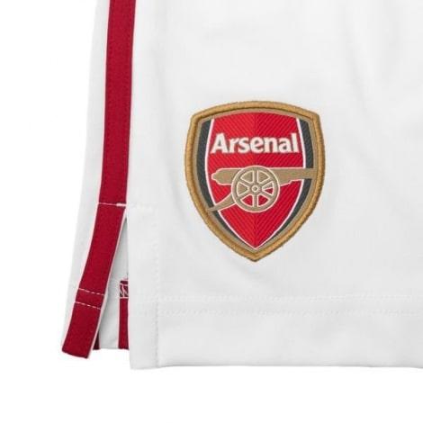 Комплект детской домашней формы Арсенала 2020-2021 шорты герб клуба