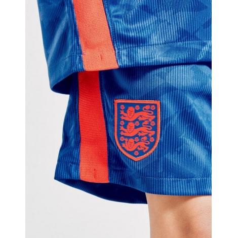 Детский комплект гостевой формы Англии на ЕВРО 2020-21 футболка шорты и гетры герб сборной