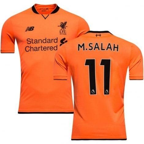 Третья игровая футболка Ливерпуля 2017-2018 Мохаммед Салах номер 11