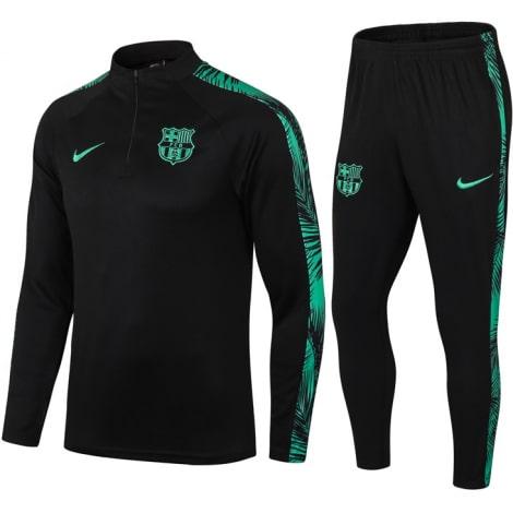 Черно-зеленый костюм Барселоны 2021-2022