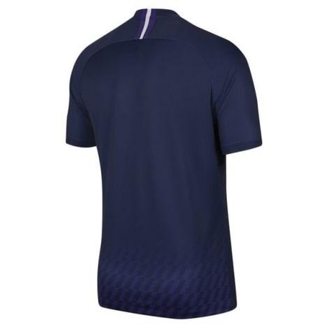 Комплект взрослой гостевой формы Тоттенхэма 2019-2020 футболка сзади