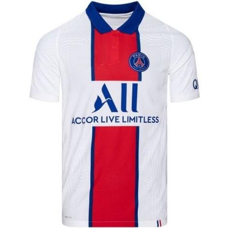 Гостевая аутентичная футболка ПСЖ 2020-2021