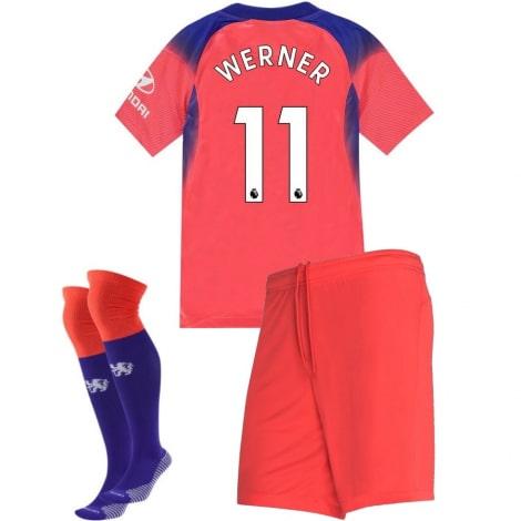 Детская третья форма Челси Тимо Вернер 2020-2021 номер 11