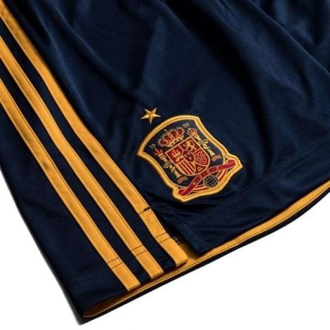 Детская домашняя форма Испании Серхио Рамос на ЕВРО 2020 шорты герб сборной