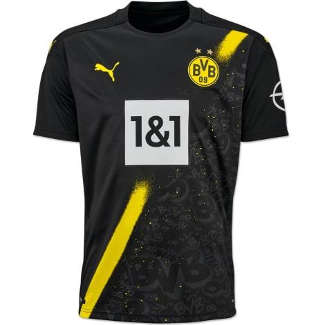 Гостевая игровая футболка Боруссии Дортмунд 2020-2021