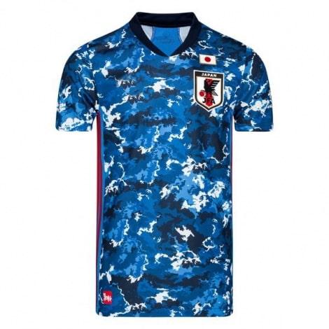 Домашняя игровая футболка сборной Японии 2020-2021