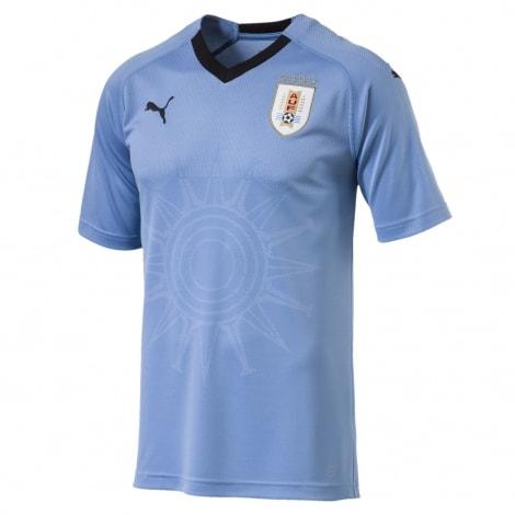 Домашняя футболка сборной Уругвая на чемпионат мира 2018