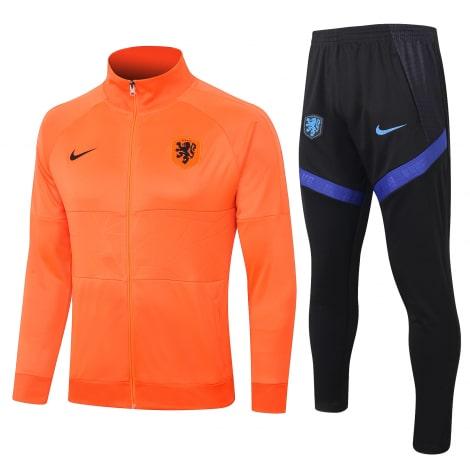 Черно оранжевый костюм сборной Голландии 2020-2021