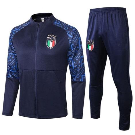 Черно синий костюм сборной Италии по футболу 2020-2021