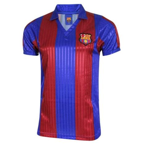 Домашняя ретро футболка Барселоны 1991-1992