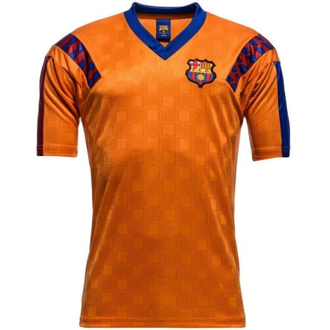 Гостевая ретро футболка Барселоны 1991-1992