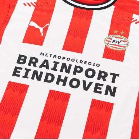 Домашняя игровая футболка ПСВ 2020-2021 титульный спонсор