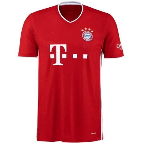 Домашняя футболка Баварии 2020-2021 Роберт Левандовски спереди