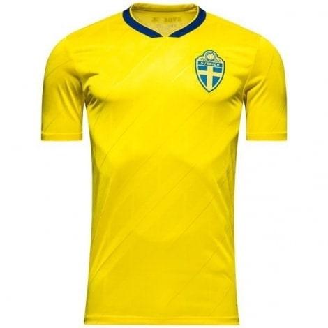 Домашняя футболка сборной Швеции на чемпионат мира 2018