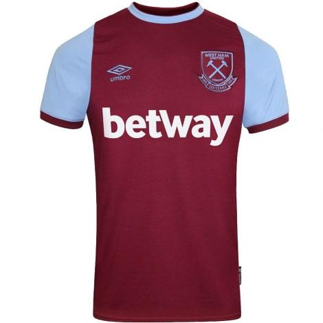 Домашняя игровая футболка Вест Хэм 2020-2021