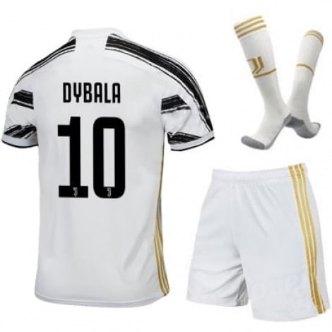 Детская домашняя футбольная форма Дибала 2020-2021