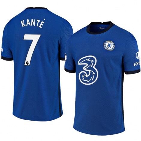 Домашняя игровая футболка Челси 2020-2021 Н'Голо Канте