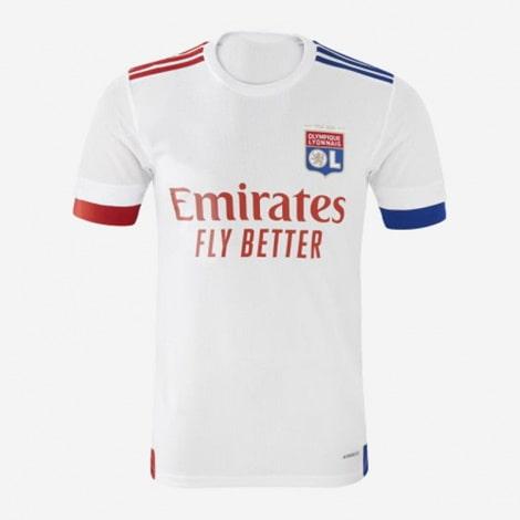Домашняя игровая футболка Лион 2020-2021
