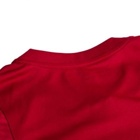 Красная тренировочная футболка Барселоны 2020-2021 сзади