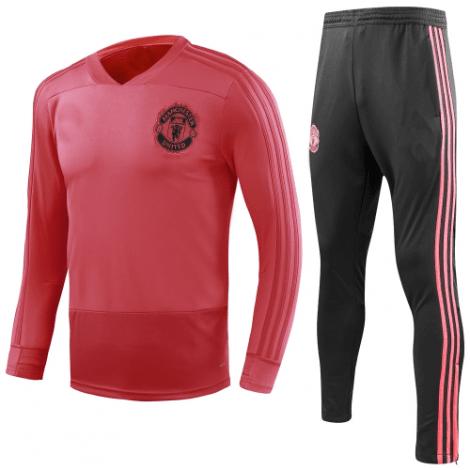 Взрослый тренировочный костюм Манчестер Юнайтед 2018-2019