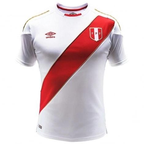 Домашняя футболка сборной Перу на чемпионат мира 2018