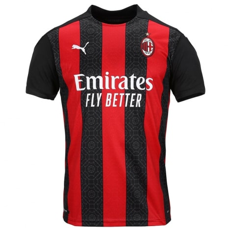 Домашняя игровая футболка Милан 2020-2021
